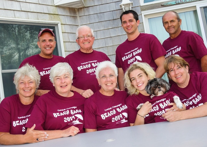 Family Get Together In Long Beach Islandy T-Shirt Photo