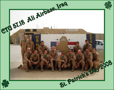 Vp47 St. Paddy's In Iraq!!! No Green Beer : ( T-Shirt Photo