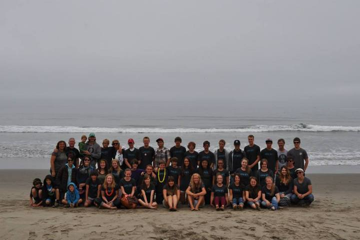 Beach Camp 2014   Santa Cruz T-Shirt Photo