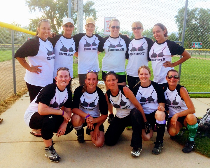 Softball For A Cure T-Shirt Photo