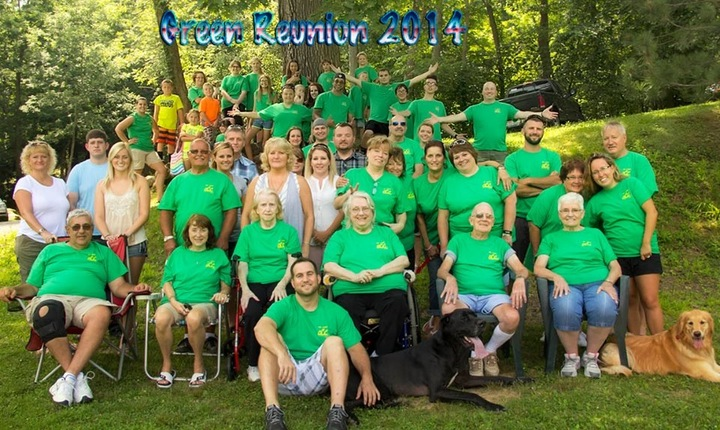 Green Family Reunion T-Shirt Photo