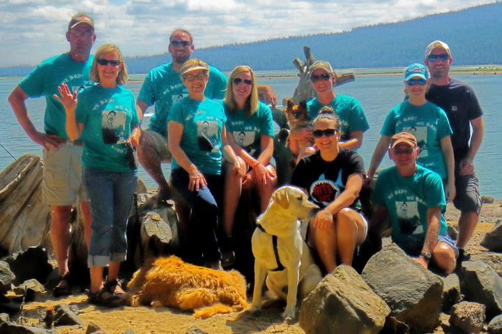 Fishin' At Wickiup Reservoir 2014 T-Shirt Photo