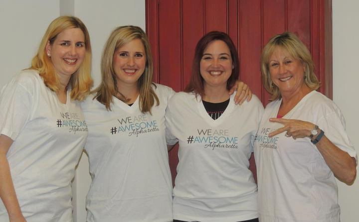 Awesome Alpharetta, Georgia Team Gears Up For The Annual Mayor's Challenge.  T-Shirt Photo