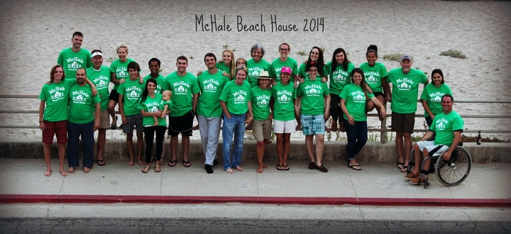 Mc Hale Family Beach House 2014 T-Shirt Photo