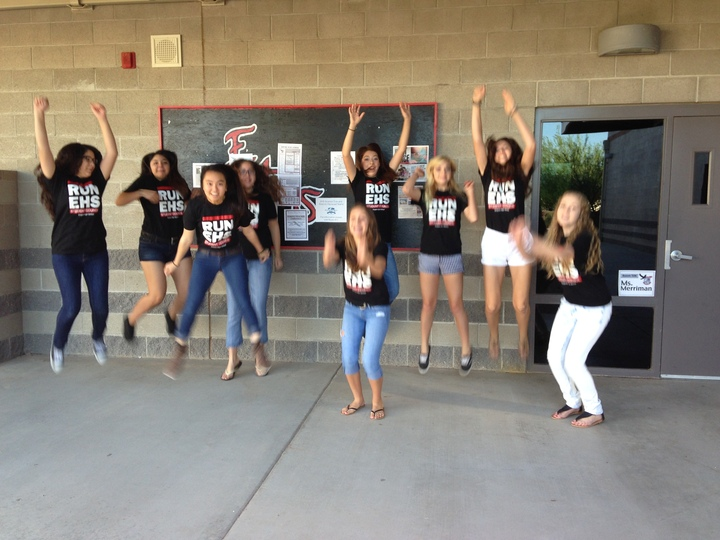 Empire Jumps For Joy With Custom Ink Shirts! T-Shirt Photo
