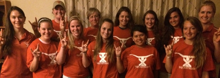 Equestrian Team At The University Of Texas At Austin T-Shirt Photo