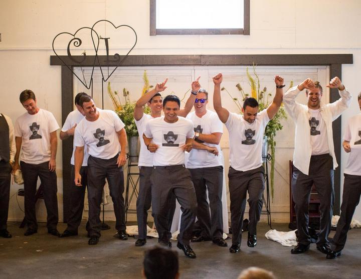 Cj's Groomsmen T-Shirt Photo