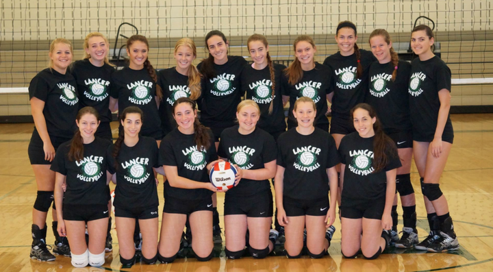 Livingston Girls Varsity Volleyball T-Shirt Photo