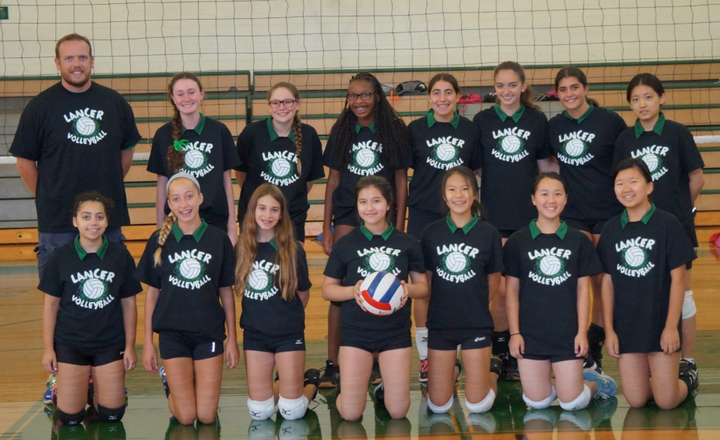 Livingston Girls Freshmen Volleyball T-Shirt Photo