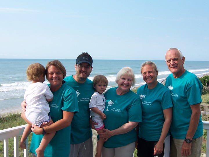 Family Fun On Topsail Island! T-Shirt Photo