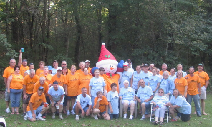 Wild Woody With Wildwood Campers T-Shirt Photo