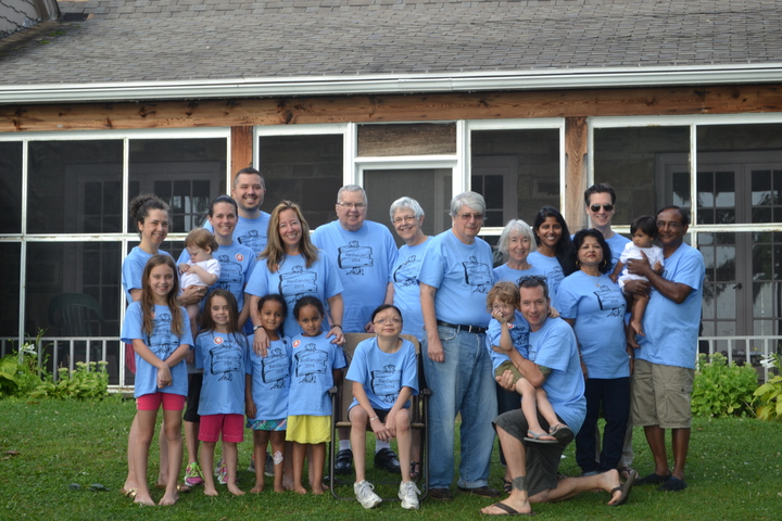 Finger Lakes Family Vacation T-Shirt Photo