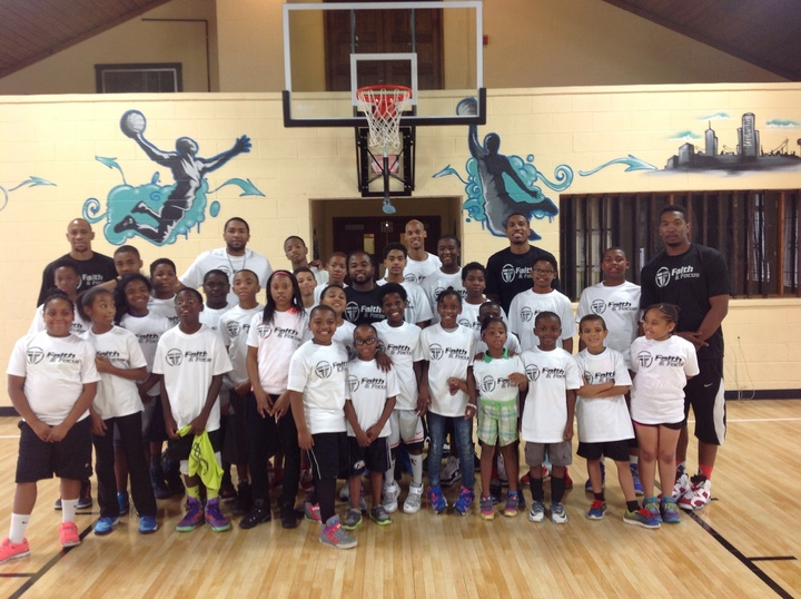 Faith & Focus Basketball Camp T-Shirt Photo