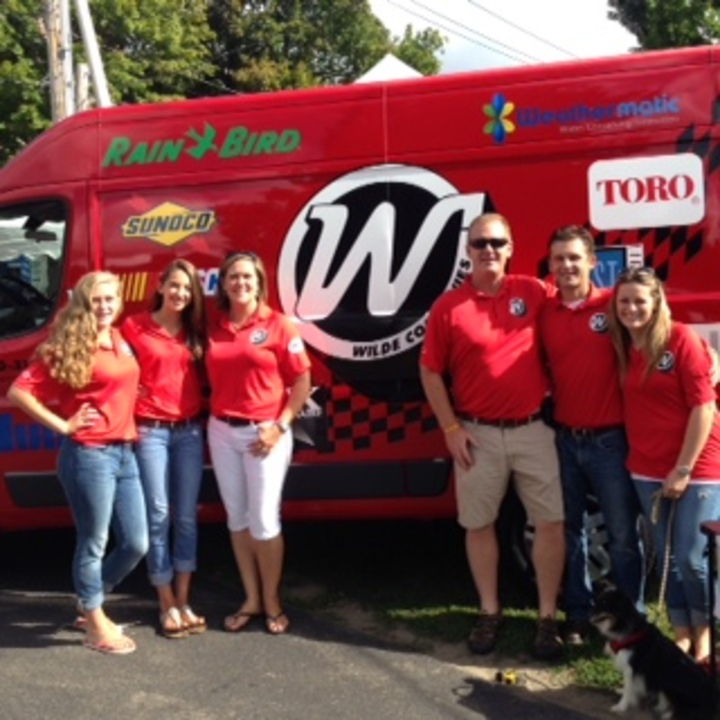 Pit Crew For Town Wide Event T-Shirt Photo
