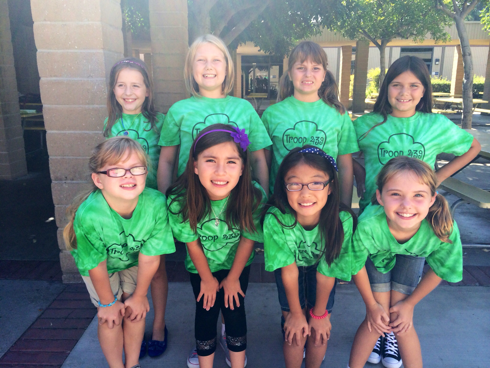 Custom t shirts for girl scout troop 439 shirt design ideas for Girl scout troop shirts
