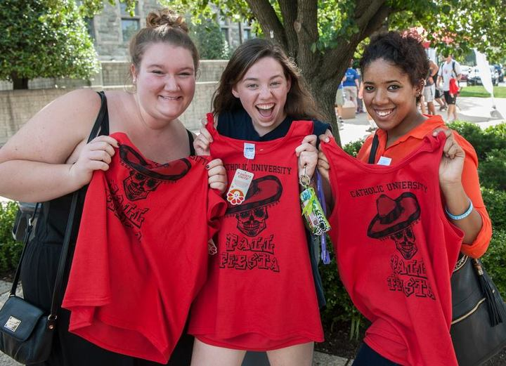 Fall Fiesta At The Catholic University Of America T-Shirt Photo