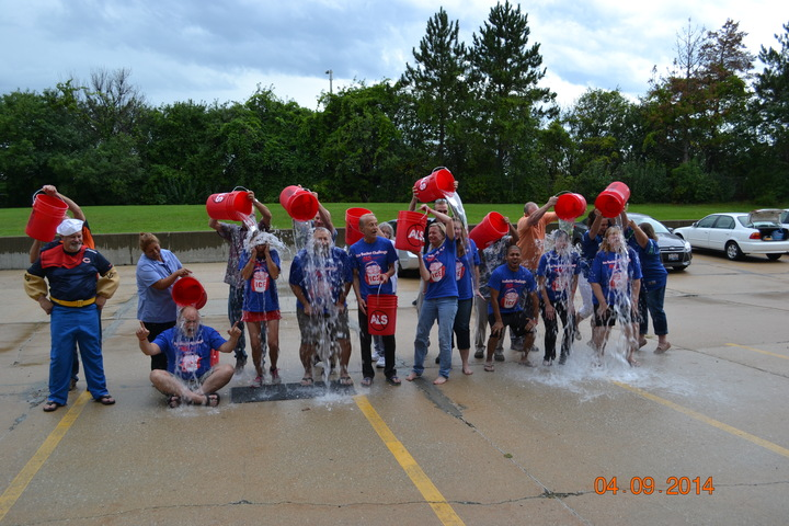 "Als Ice Bucket Challenge For Tony ""Breeze"" Brzezowski T-Shirt Photo"