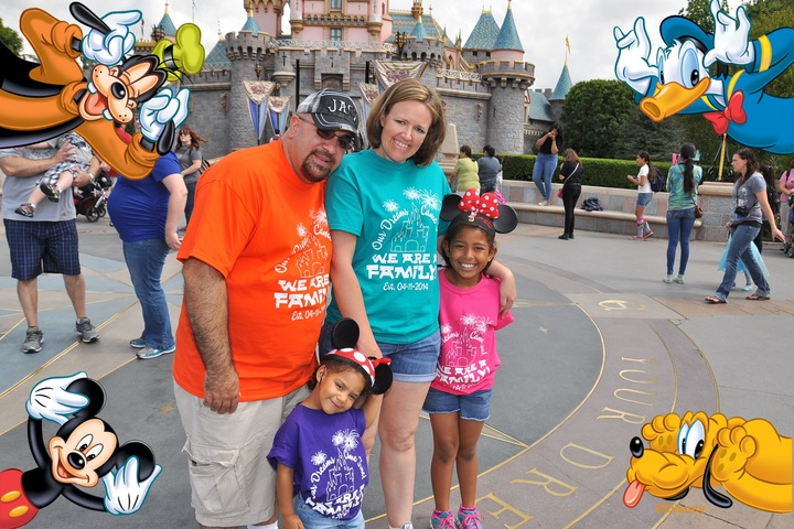 We Are A Family! T-Shirt Photo