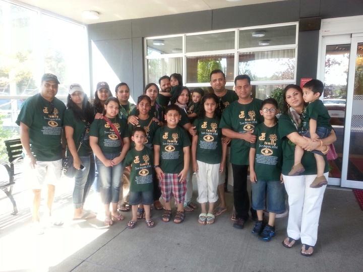Family Tour T-Shirt Photo