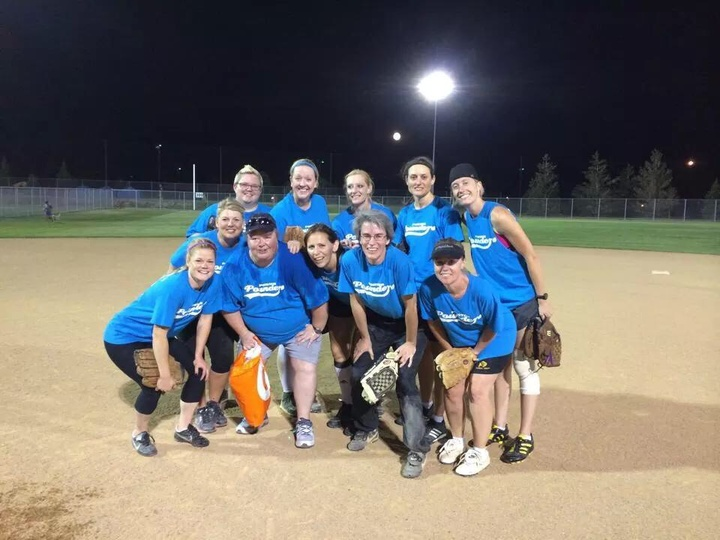 Softball Champions!! T-Shirt Photo