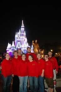 Christmas At Disneyworld T-Shirt Photo