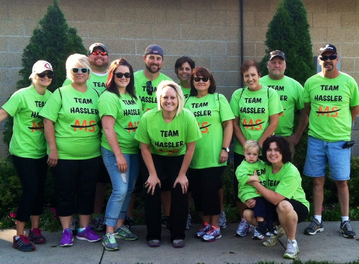 Ms Walk   Team Hassler T-Shirt Photo