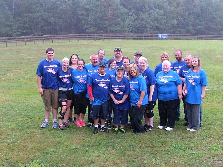 Memorial Softball For Kim And Jim T-Shirt Photo