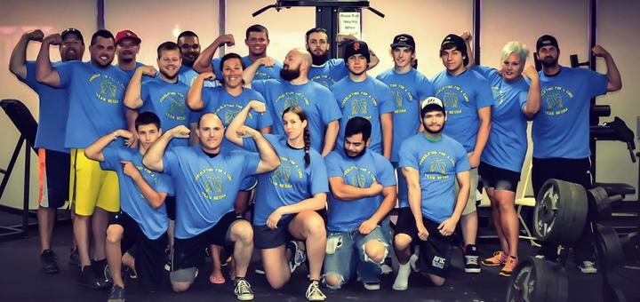 Powerlifting For A Cure T-Shirt Photo