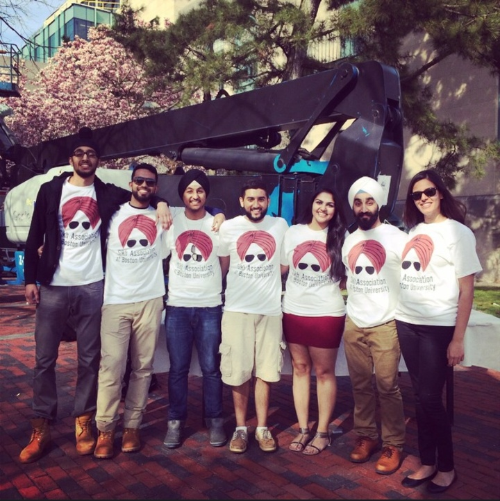 Bu Sikh Association T-Shirt Photo