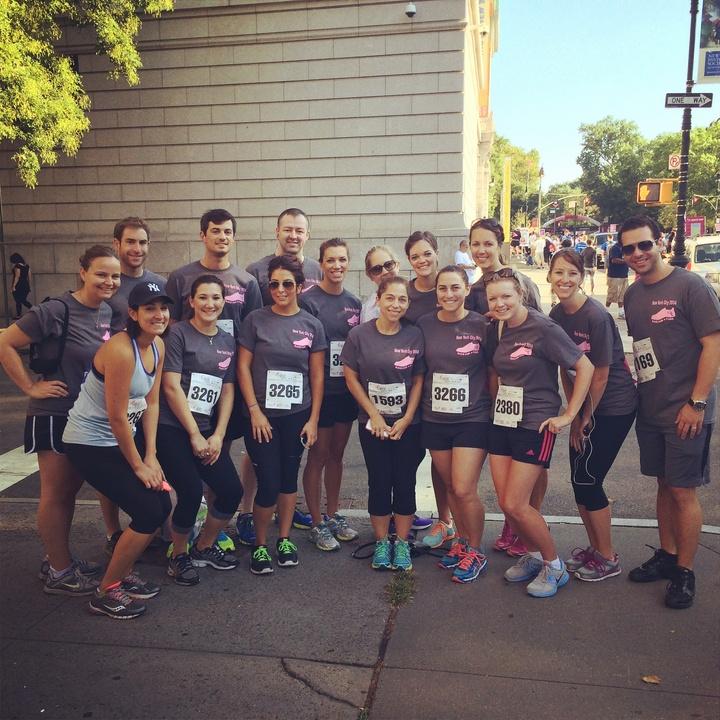 Nyc Susan G Komen Race For The Cure 2014 T-Shirt Photo