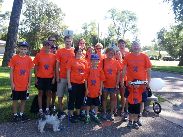 Walking For A Cure For Sheri T-Shirt Photo