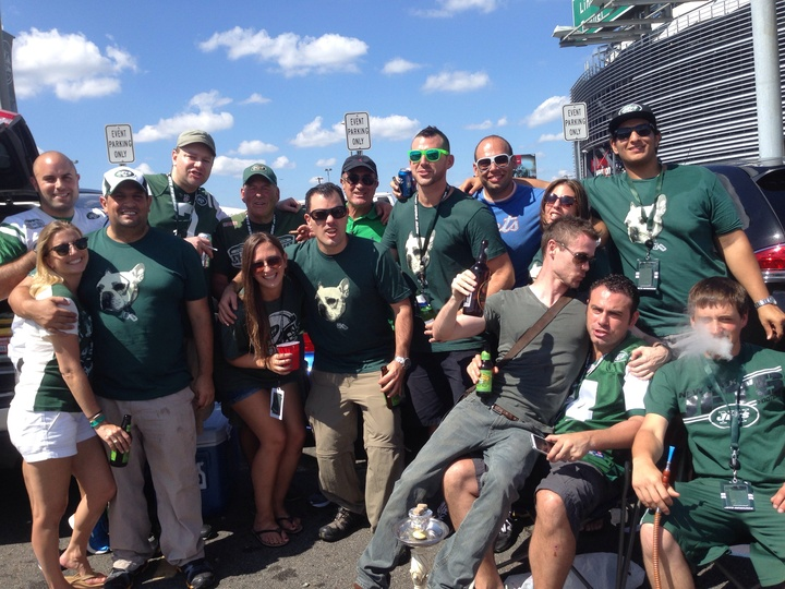 D1 Tailgate   Jets Home Opener T-Shirt Photo