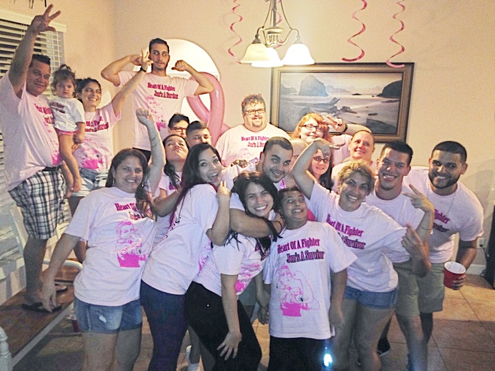Surviving Breast Cancer T-Shirt Photo