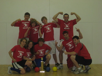 Dodgeball Champs T-Shirt Photo
