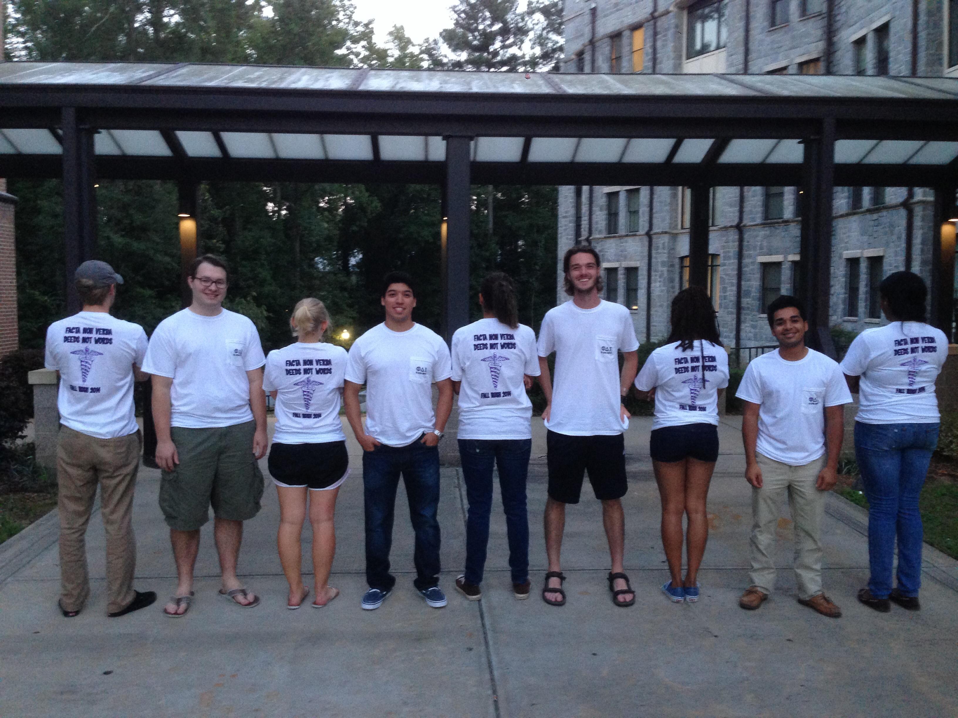 Custom T Shirts For Phi Delta Epsilon Fall Rush 2014 Shirt Design