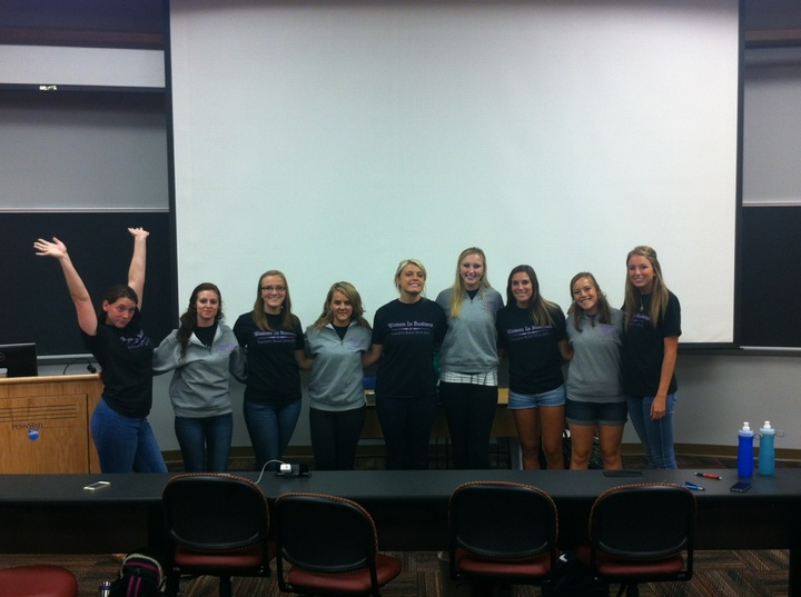 Penn State Women In Business T-Shirt Photo
