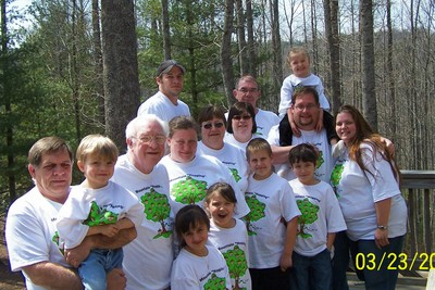 Mountain Hopping In North Carolina (Easter Weekend) T-Shirt Photo