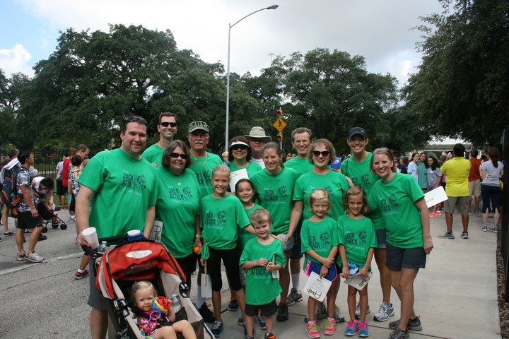 Food Allergy Fare Walk Team Jack Attack T-Shirt Photo