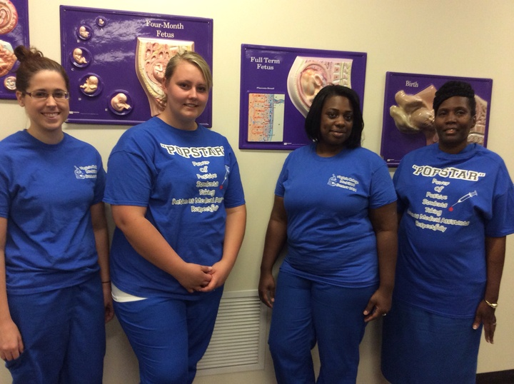 "Mrs. Johnson ""Popstars"" V.C Med 1800 Lab Class T-Shirt Photo"
