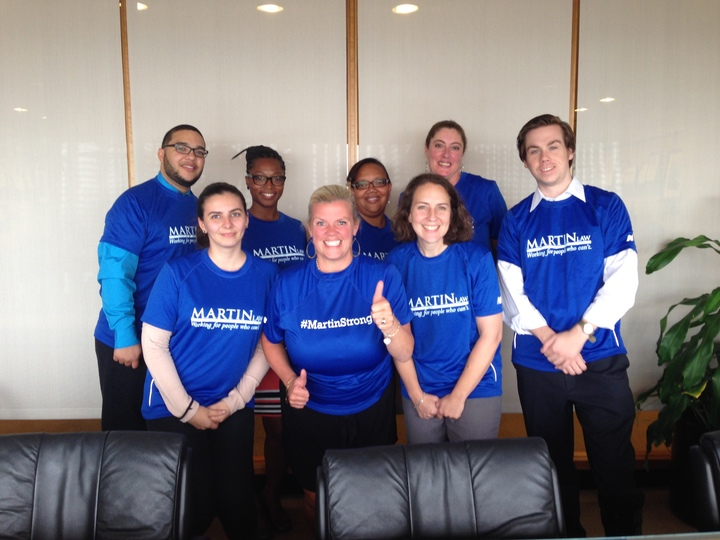 Martin Law Health And Wellness Winning Team: Flab U Less! T-Shirt Photo