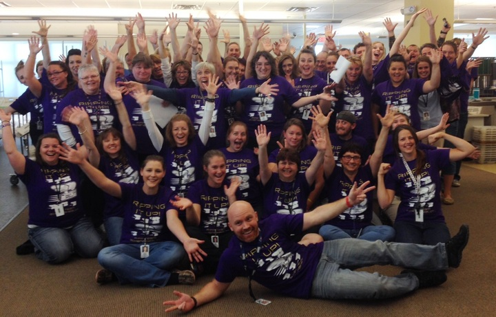 Ripp Team Goes Purple! T-Shirt Photo