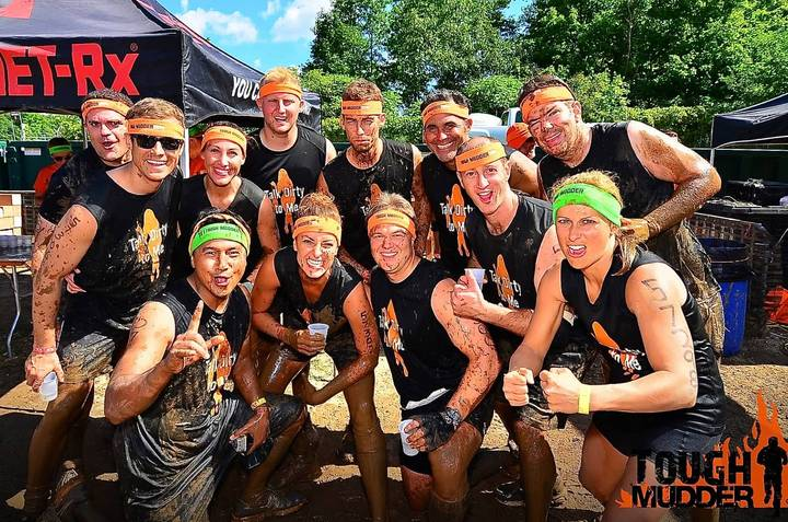 Tough Mudder   Team Talk Dirty To Me T-Shirt Photo