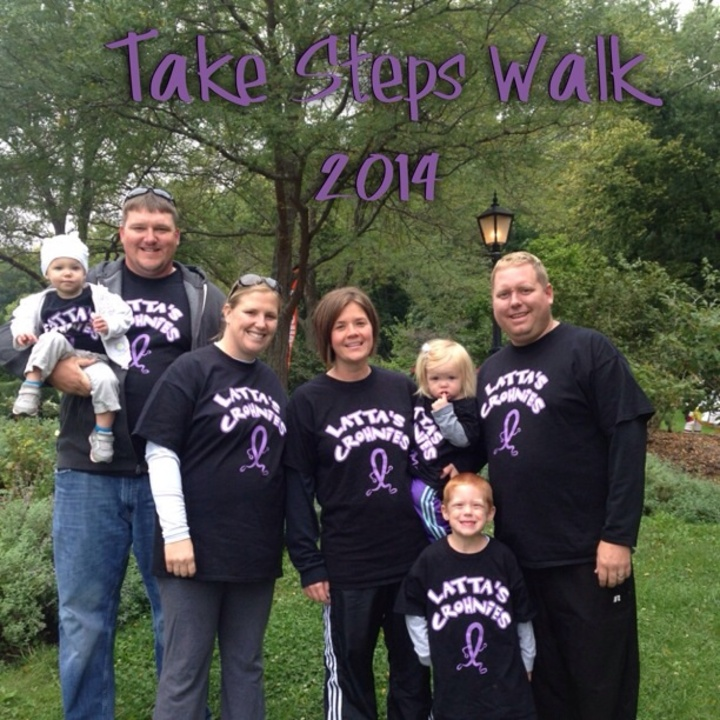 Take Steps Walk 2014 T-Shirt Photo