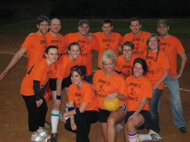Team Menace To Sobriety   Nashville Kickball T-Shirt Photo