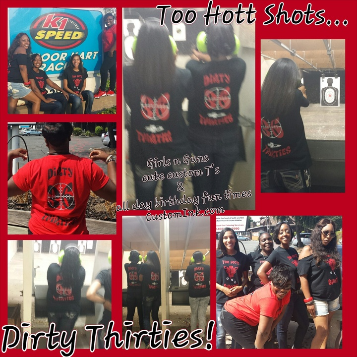 Too Hott Shots T-Shirt Photo