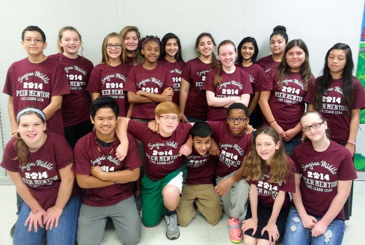 Smyrna Middle School Peer Mentors T-Shirt Photo