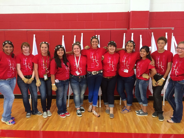 Jourdanton Colorguard T-Shirt Photo