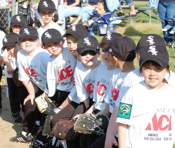 Tball Team Ready To Play Ball! T-Shirt Photo