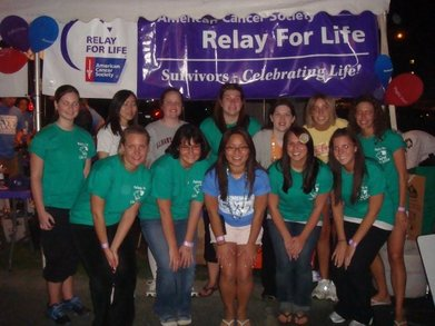 Lambda Kappa Sigma At The Acp Relay For Life T-Shirt Photo