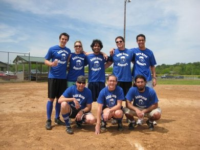 Acid Base Runners Kickball Team T-Shirt Photo